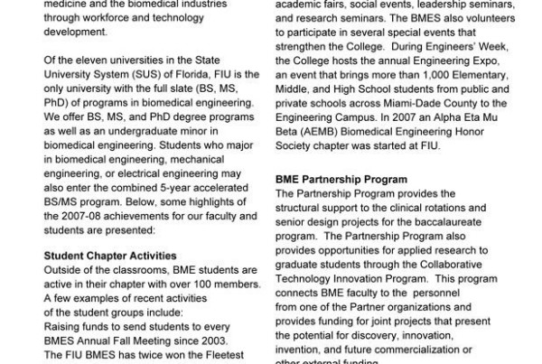 FIU Biomedical Engineering